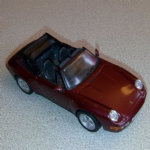 Porsche 911 Carrera Cabriolet 1995  diecast model 1:43 Deagostini Porsche Collection